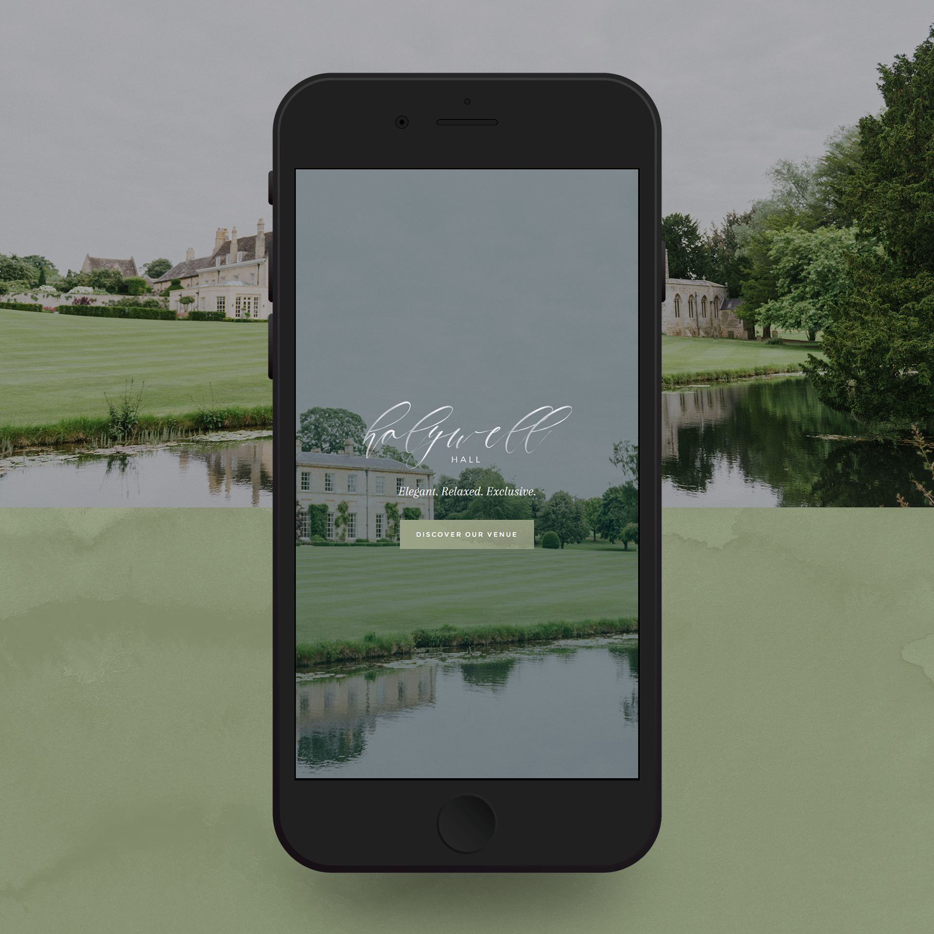Holywell Hall - Mobile Layout