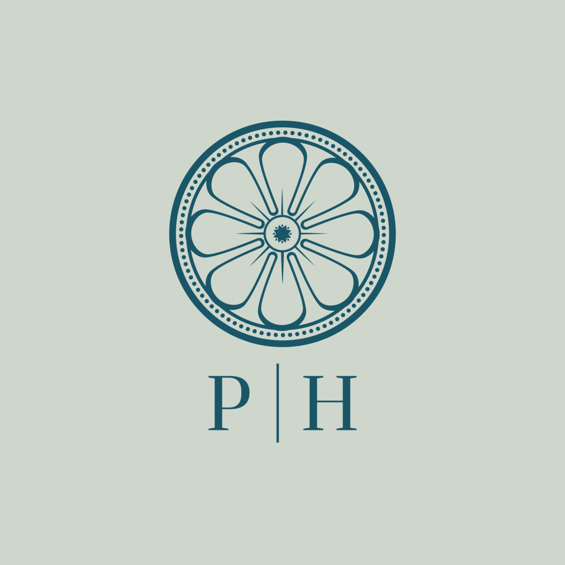 Pynes House - Branding - Submark