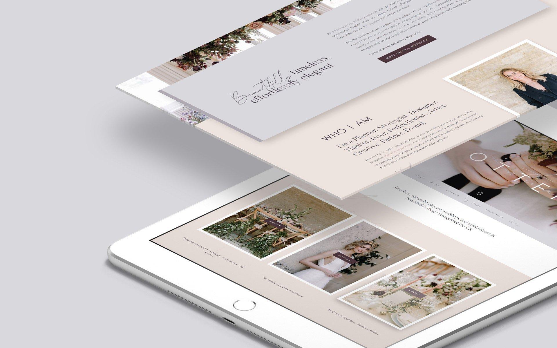 Katrina Otter - Branding + Web Design by Pixel Debris
